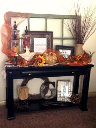 Sofa Table Decorations Fall Decorating Sofa Table Entrywayi Love This The Window And
