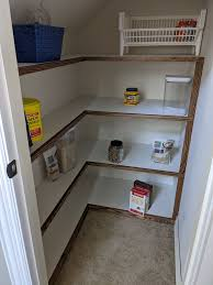 Create more kitchen pantry space. Built In Second Pantry Under Stairs Opinions Wanted Beginnerwoodworking
