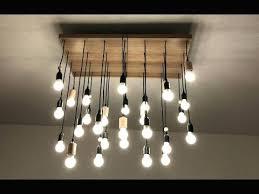 diy re multi ampoules you avec hqdefault et fabriquer un luminaire avec plusieurs ampoules 1 diy multi light pendant