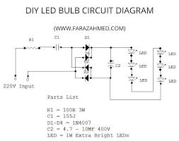 led bulbs circuit diagram ireleast info diy home made 6w led bulb 3 steps wiring circuit