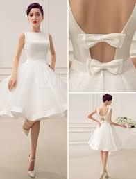 short wedding dress vintage bridal dress 1950 s bateau sleeveless