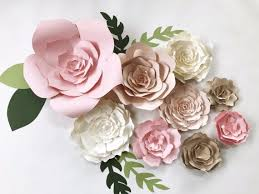 Paper Flower Decor Paper Flower Wall Decor For Wedding Archives W Inzone
