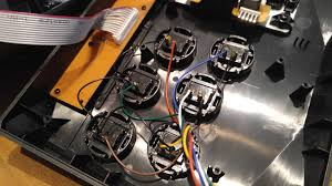 madcatz alpha mod focus attack llc pull or snip the wiring harness off the original buttons they re held on glue