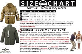 Soft Shell Tactical M 65 Jacket Black