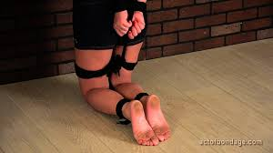 Natali feet bondaged tortured