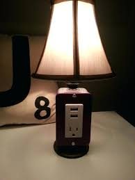 lamp usb port back to article a bedside with ideas intended for table lamps design 15