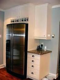wine rack cabinet above fridge. Wine Rack For Refrigerator Racks Above Fridge Cabinet Ideas .