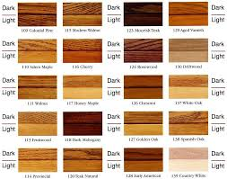 Minwax Oil Based Stain Color Chart Wood Stain Color Chart Colors Options Bunk Bed