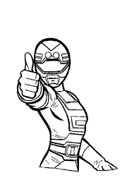 Printable Power Rangers Coloring Pages Drawings Get Coloring Page