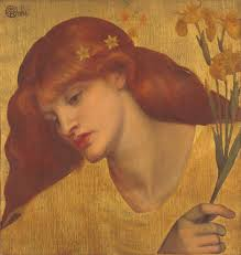 dante gabriel rossetti sancta lilias 1874