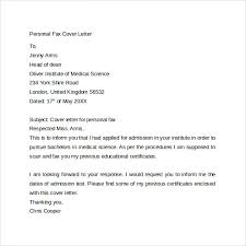 Fax Cover Letter 9 Free Samples Examples Format