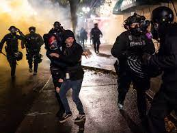 Police Declare 'Riot' In Portland, Ore. After Breonna Taylor Decision :  Updates: The Fight Against Racial Injustice : NPR