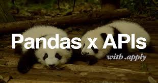 pandas dataframe api using pandas apply