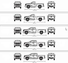 Chevy Truck Dimensions Chart Long Bed Trucks Truck Bed Dimensions Size Chart