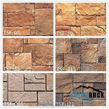 multicolor castle stone veneer faux rock for exterior wall panels