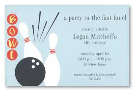 Bowling Party Invitations Bowling Alley Invitations Myexpression 10118