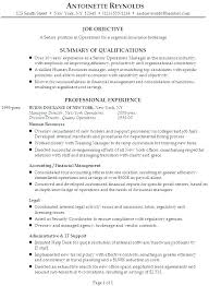 Resume With Objectives Resume Management Objective Business