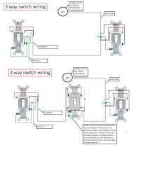 3 way and 4 way switch wiring diagram wiring library