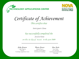 Sample Certificate Of Achievement Certificate Of Achievement Template Oninstall 3