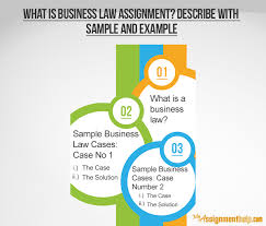 what is business law assignment describe sample and example what is business law assignment describe sample and example