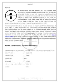 finance homework help online authorstream finance homework help online