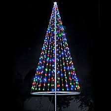 Flagpole Christmas Tree Kit - Multicolor - Flagpole Warehouse ...