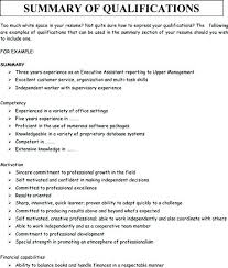 Summary For Resume Examples Awesome Summary Of A Resume Customer Service Professional Summary For Resume