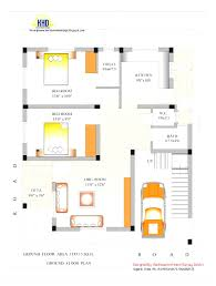 beautiful indian house plans with house designs 30 x 60 for 30 60 house plan