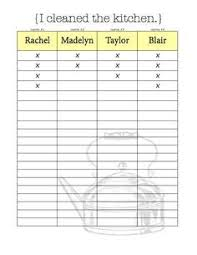 Apartment Chore Chart 24 Best Roommate Chore Charts Images Cleaning Cleaning Hacks