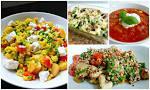 lichte gezonde maaltijd