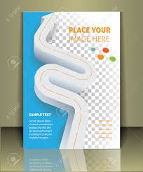vector business brochure or magazine cover template royalty vector vector business brochure or magazine cover template