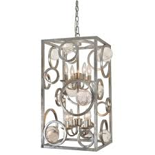 farmhouse pendant wood beam chandelier french industrial pendant lighting work light cage vintage cage light