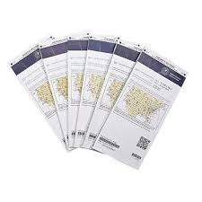 Expired Faa Sectional Charts For Wrapping Paper Or Decor Ebay