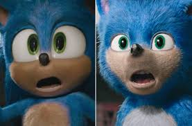 Original Sonic Design Sonic The Hedgehog New Trailer Unveils Character Redesign