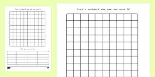 blank crossword puzzle grids printable new blank word search template free fresh printable searches