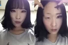 a south korean woman removing her makeup goes viral but there s more than meets the eye