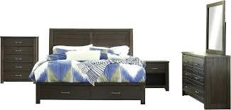 Ashley Furniture Storage Bed Furniture Storage Panel Bedroom Set In ...