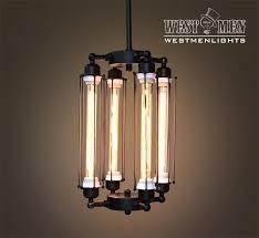 custom made westmenlights steampunk black iron chandelier ceiling mounted lamp vintage rustic