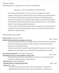 Resume Supervisory Skills Construction Manager Resume Summary Free ...