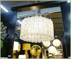 capice shell lamp chandelier large oval capiz shade