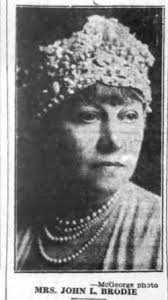 Eleanore Thompson Brodie (unknown-1935) - Find A Grave Memorial