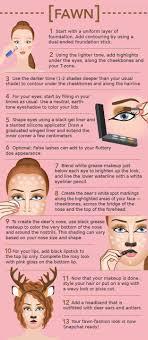 description fawn snapchat filter makeup tutorial