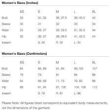 The Mountain Shirt Size Chart Mountain Hardwear Womens Apparel Size Chart Irunfar Com