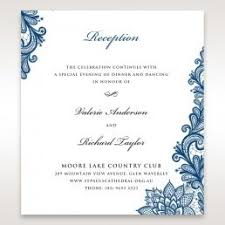 Wedding Ceremony Card Wedding Reception Cards Matching Styles
