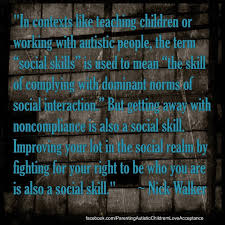 Working With Autistic People In Contexts Like Teaching Children Or Working With Autistic