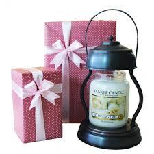 large jar candle warmer gift set