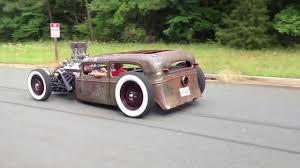 1933 Chevy Sedan rat rod cruise by - YouTube