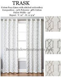 trask heavy linen style curtains new bestwindowtreatments com linen curtainsblackout curtains108 inch