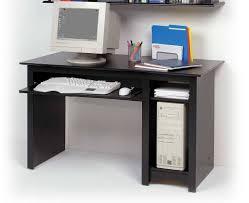 good black small computer desk with hutch corner white gaming desk