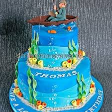 Fishing Cake Decorating Photos